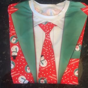 NWOT Ugly Christmas Shirt